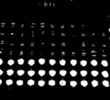 typewriter www Sticker