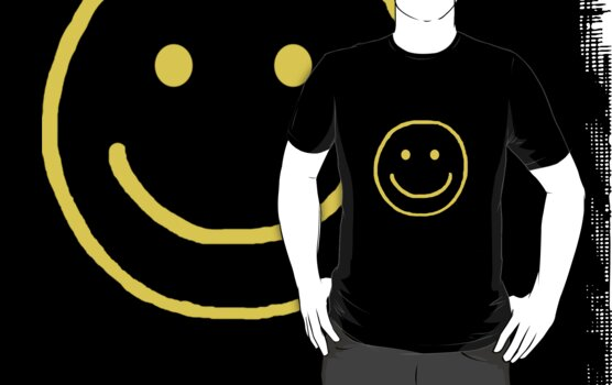 Smiley Tee (BBC Sherlock) by ashbrie13
