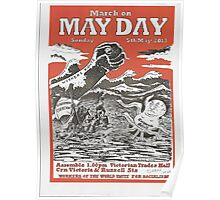 May Day Victoria Poster 2013 Poster