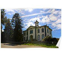 Old Bodega Schoolhouse Poster