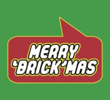 Merry 'Brickmas' by Bubble-Tees.com by Bubble-Tees