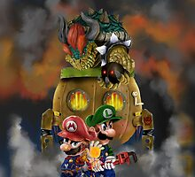 Super Mario World by ArrowValley