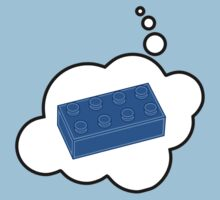 Blue Brick by Bubble-Tees.com by Bubble-Tees