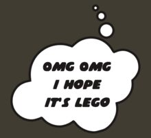 OMG OMG I Hope it's LEGO by Bubble-Tees.com by Bubble-Tees