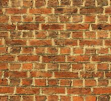 Cracked Dirty Brick Wall Background by kirilart