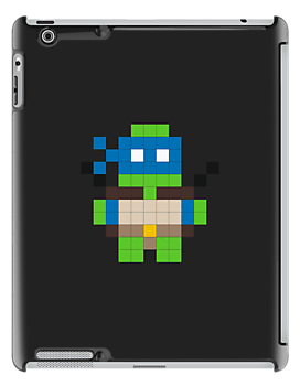 Pixel Art TMNT Leonardo by jaredfin