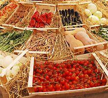 Fruit and Veg Display by jojobob