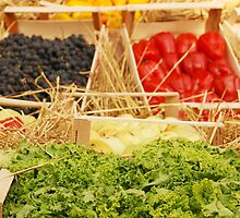 Fruit and Vegetable Display by jojobob
