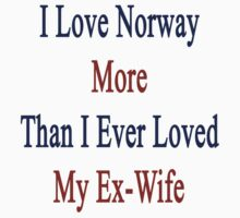 I Love Norway More Than I Ever Loved My Ex-Wife by supernova23