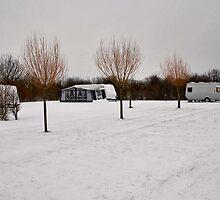 """Winter campsite"" by Adri  Padmos"