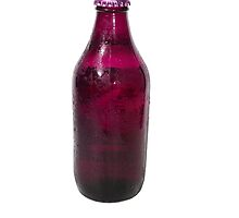 Isolated Mauve Beer Bottle by jojobob