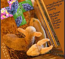Happy Easter! by Angele Ann  Andrews