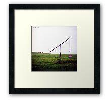 ∞ ± π Framed Print
