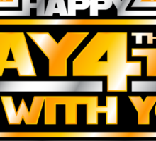 Happy May the 4th!  Sticker