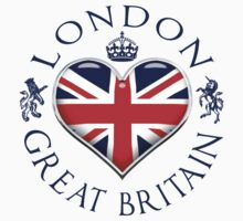 I Love London by FlagCity