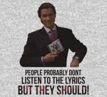 Patrick Bateman's music theory by JustCarter
