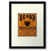 Beard Brotherhood Framed Print
