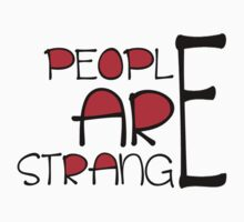 PEOPLE ARE STRANGE by mark ashkenazi