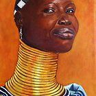 Ndebele lady by Beth Neden
