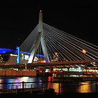 Boston's Zakim-Bunker Hill Bridge by Mitchell Grosky