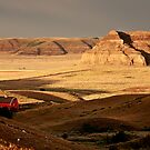 Castle Butte in Big Muddy Valley of Saskatchewan by pictureguy