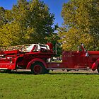 1950 Seagrave 85 foot Tillered Aerial Fire Truck by TeeMack