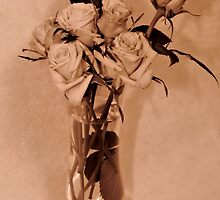 Roses in Sepia by aprilann
