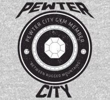 Pewter City Gym Vintage Tee by James Headrick