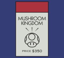 Mushroom Kingdom Monopoly Location by huckblade