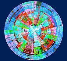 Polycolor disk by snotbubble