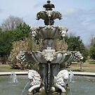 Garden Fountain by Vivian Sturdivant