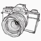 Minolta XG-7 SLR by strayfoto