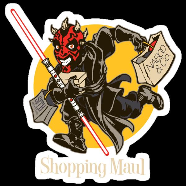 Shopping Maul by Draganmac