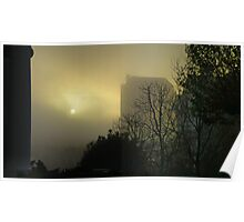 Sun and Fog Poster