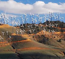 Wind Farm by Ron Hannah