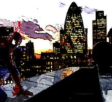 Spiderman in London by TheDigArtisT