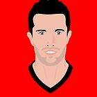 Robin Van Persie Vector Art by Aaron Pacey