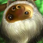 Sloth by Lydia Kurnia