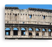 Detail of Colosseum Facade Canvas Print