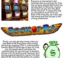 Der Hit unter den Slots - Book Of Ra by bookofra