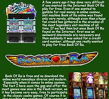 Den Klassiker der Spielautomaten Book Of Ra kostenlos spielen by bookofra