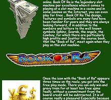 Book Of Ra bietet allen Fans von Slot Machines den ultimativen Casinospaß! by bookofra