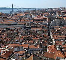 Lisbon Panoramic View by kirilart