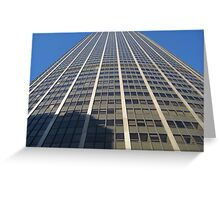 Paris Montparnasse Tower Greeting Card