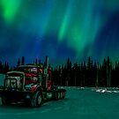 Auroras Rig by peaceofthenorth