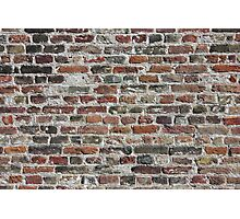Colorful Bricks Background Photographic Print
