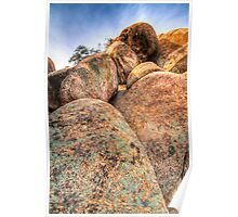 Texas Canyon Boulders Poster