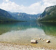 Lake Bohinj Shore, Slovenia by jojobob