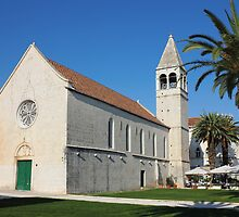 St Dominic monastery in Trogir by kirilart