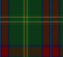 01468 Telfer Green Tartan Fabric Print Iphone Case by Detnecs2013